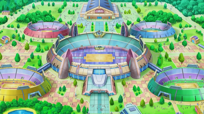Liga Pokémon Anime
