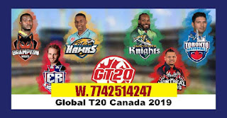 Who will win CANADA T20 Qulifier 2 Match Brampton Wolves vs Winnipeg Hawks