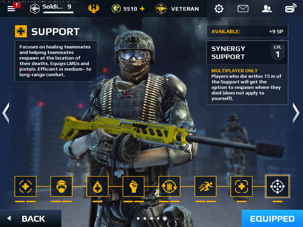 Support Class Soldier