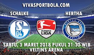 Prediksi Schalke vs Hertha Berlin 3 Maret 2018