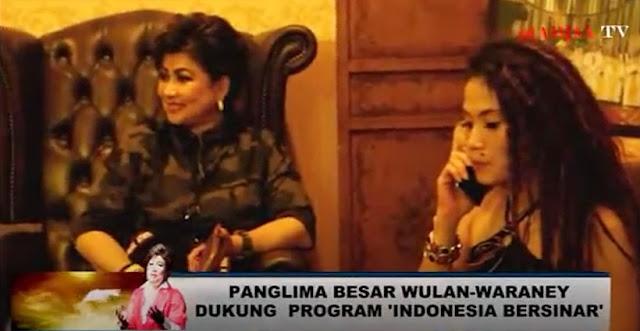 Wulan-Waraney Dukung Program Dr Maya Rumantir