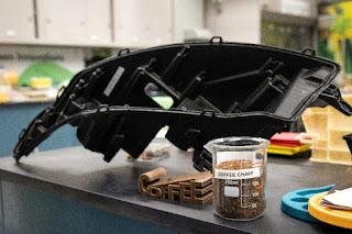 Posos de café para fabricar coches más ligeros y ecológicos