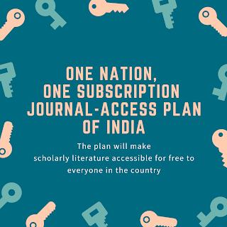 One Nation, One Subscription journal-access plan of India
