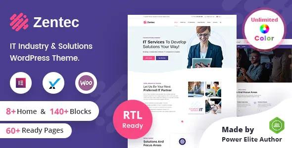Best IT Solutions Company WordPress Theme