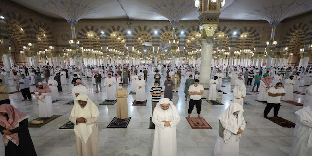 After 70 Days, Prophet's Mosque Reopens