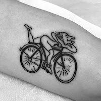 тату велосипедист