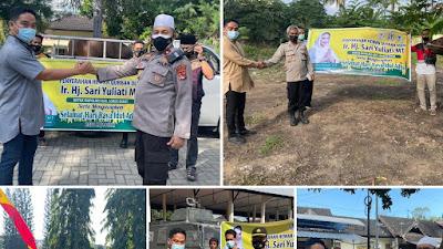 Sari Yuliati Sumbang Qurban ke Seluruh Mapolres di Pulau Lombok