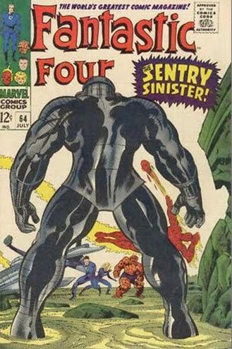 Fantastic Four 64-SentrySinister