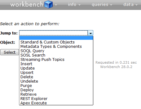 Infallible Techie: Workbench in Salesforce