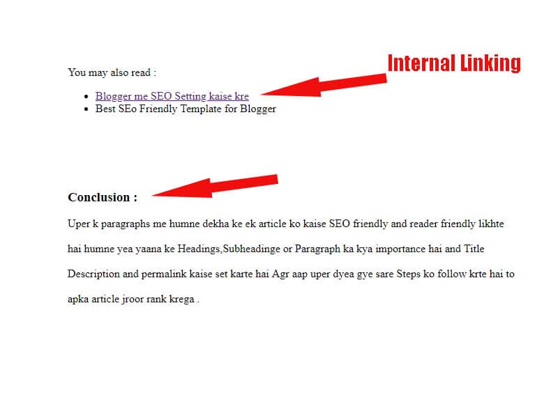 Best way to write SEO friendly article on Blogger