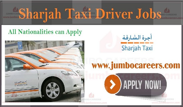 Driver Free Visa Jobs in the United Arab Emirates, Job description of Sharjah Taxi jobs,