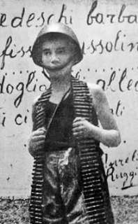 The young partisan Filippo Illuminato, killed at the age of 13