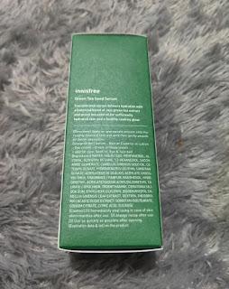 Ingredients Innisfree Green Tea Seed Serum