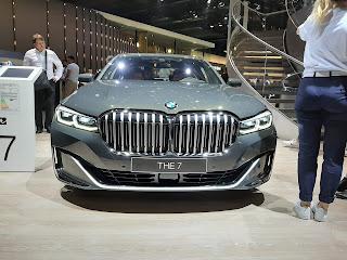 BMW 7-series luxury sedan