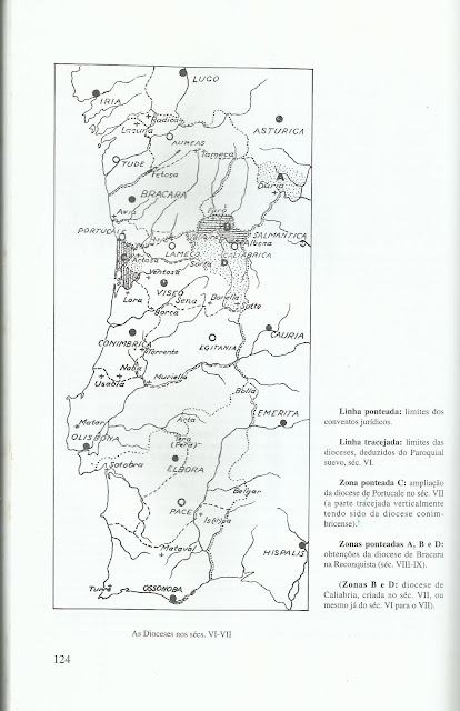 Paróquias Suevas e Dioceses Visigóticas A. de Almeida