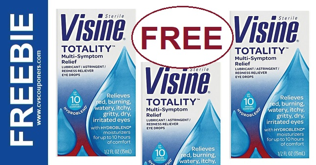 FREE Visine with Coupons at CVS