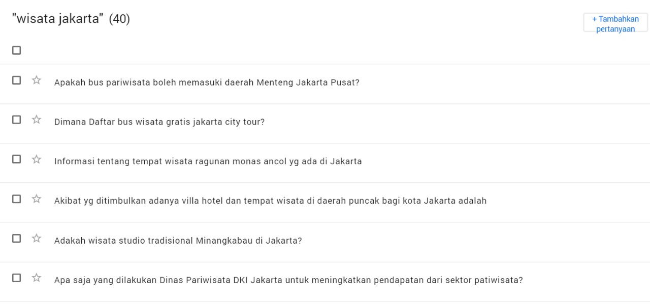 belajar SEO blog dengan question hub