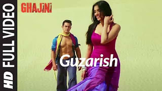 गुज़ारिश Guzarish Lyrics In Hindi - Ghajini | Javed Ali