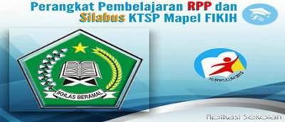 Perangkat Pembelajaran RPP dan Silabus KTSP Mapel FIKIH Guru MI Kelas 1- 6