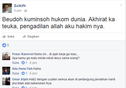 status fb pria asal idi rayeuk yang nagaku nabi isa
