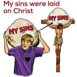 Jesus bears our sin