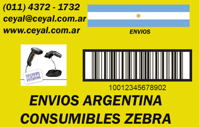 Codigo de barras etiqueta transferencia termica