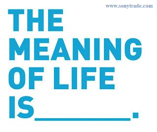 the meaning of life, mencari makna hidup manusia