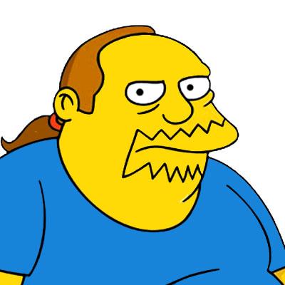 Los Simpson Personaje Jeff Albertson