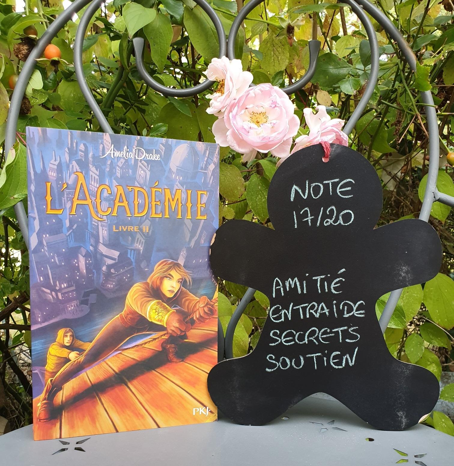 L Academie Tome 2 De Amelia Drake Les Lectures De Mylene