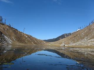 kareri-lake, kangra, himachal-pradesh