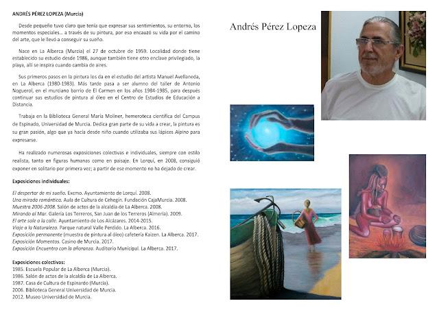 Exposición de pintura del artista alberqueño Andrés Pérez López.