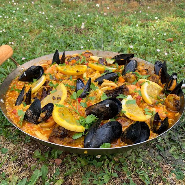 food, paella, lifestyle blogger, les petites bulles de ma vie