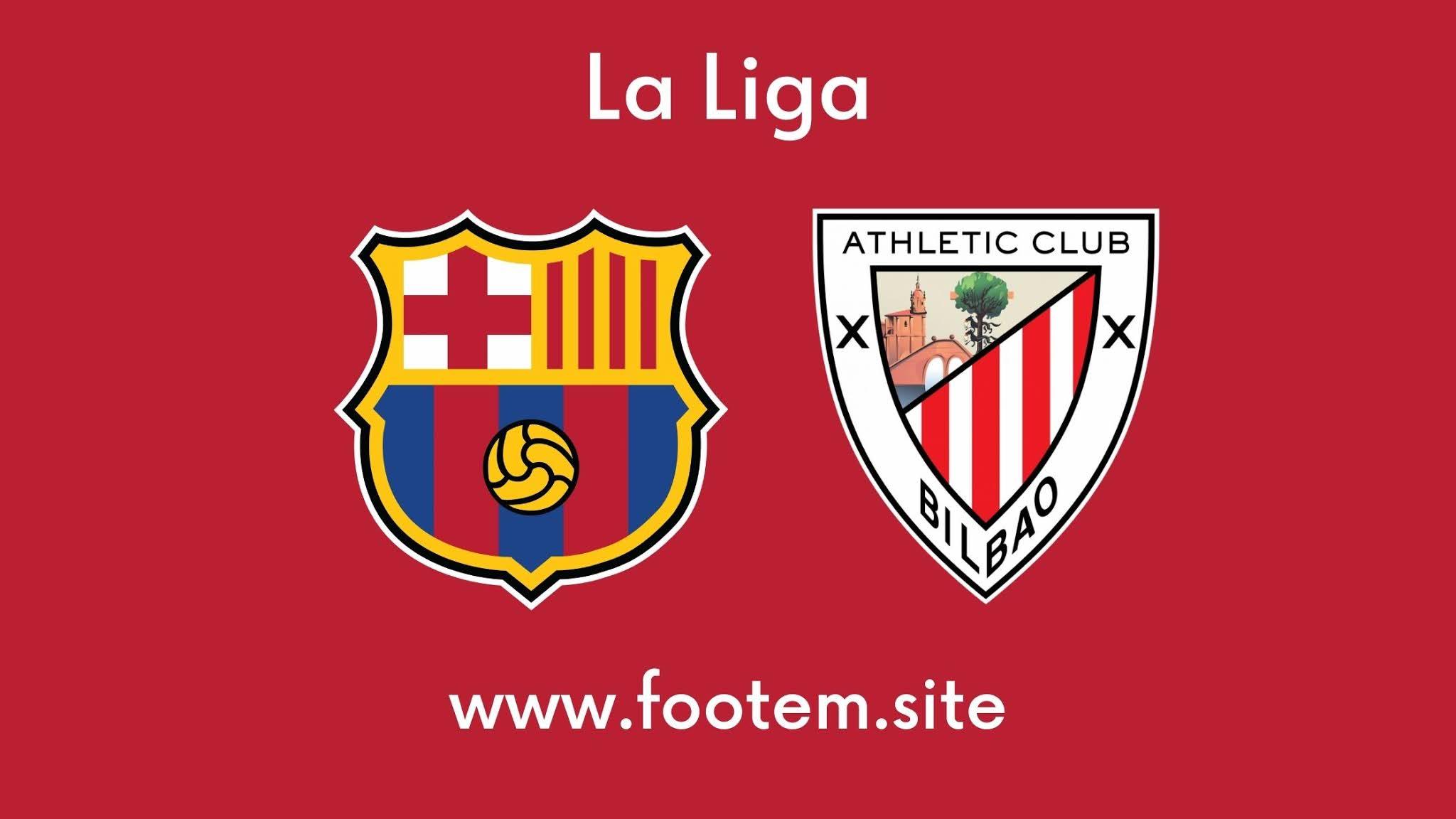 Barcelona vs Athletic Bilbao footem site footem7