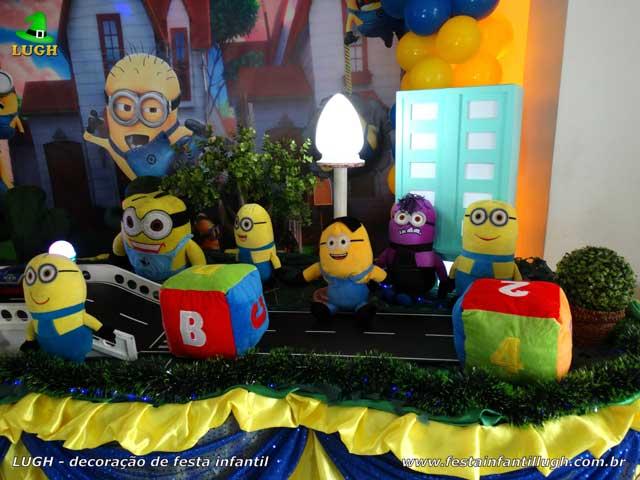 Decoração de aniversário tema Minions - Festa infantil
