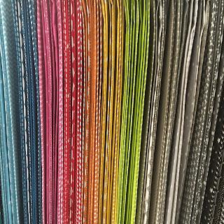 rainbow of cotton prints fabric