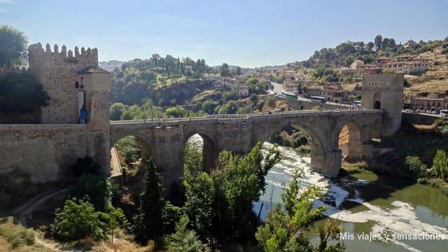Puente de San Martín, barrio judío de Toledo