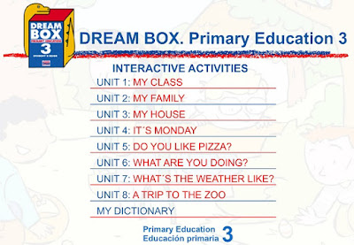 DREAM BOX 3º PRIMARIA