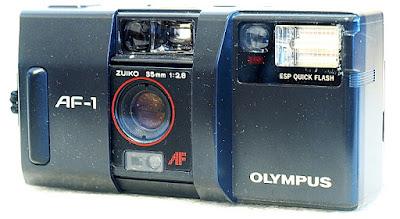 Olympus AF-1, View