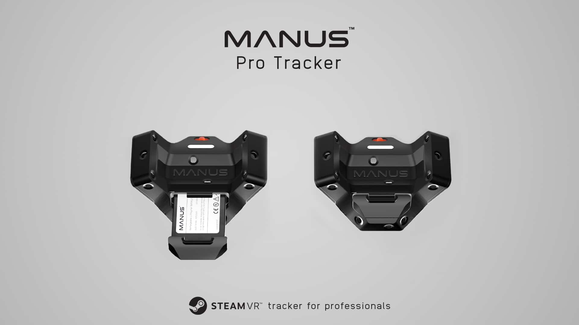 Manus Launches Professional SteamVR Tracker