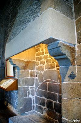 Interni del Museo ospitato nella Tour Solidor