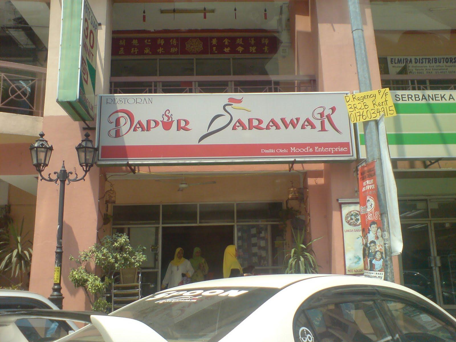 Namanya Dapur Sarawak Which Is Owner Dia Adalah Pelakon Tv Mahmud Ali Basyah Tu