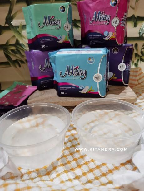 Bahan Missy Indonesia dari Cotton dan Absorbent Gel
