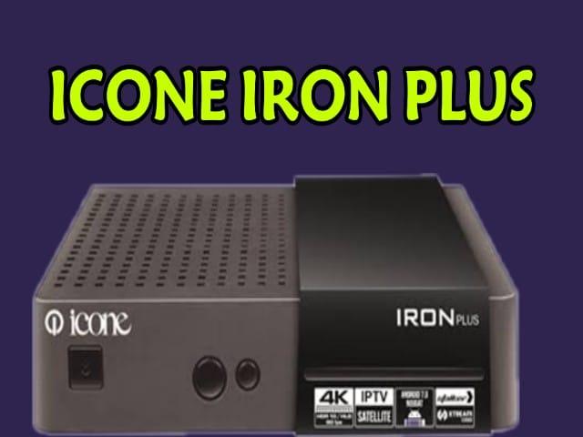 ملف قنوات لجهاز ايكون ايرون ICONE IRON PLUS بلس جديد ومرتب 2020