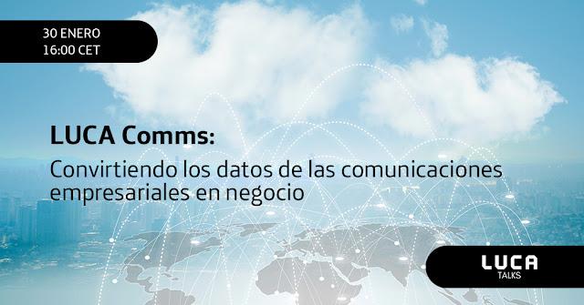 Convierte datos complejos de tu empresa en insights accionables con LUCA Comms