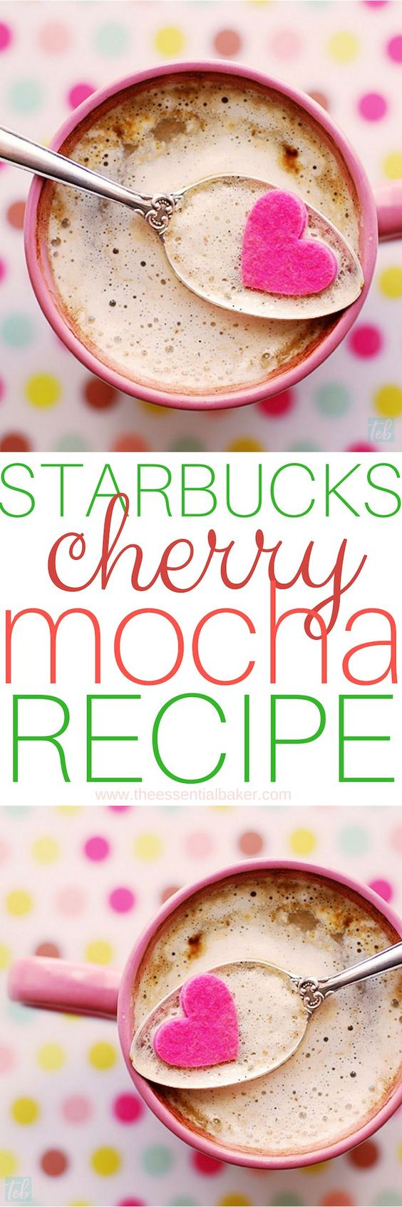 Copycat Starbucks Cherry Mocha