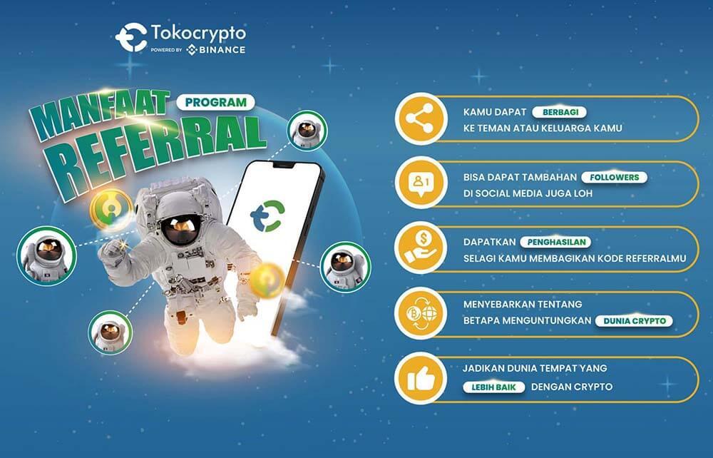 manfaat kode referral tokocrypto
