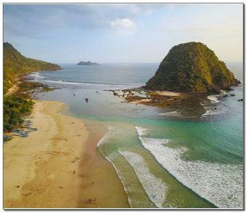 Foto Pantai Pulau Merah Banyuwangi