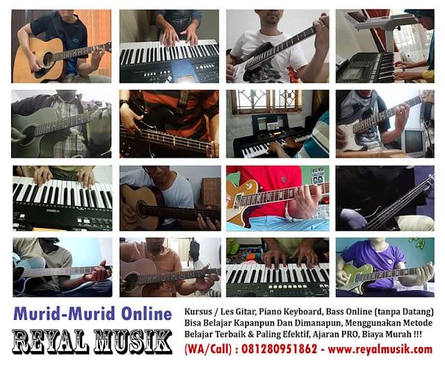 kursus musik online, les musik online, kursus gitar online, les gitar online, kursus piano online, les piano online, kursus online murah, les online murah