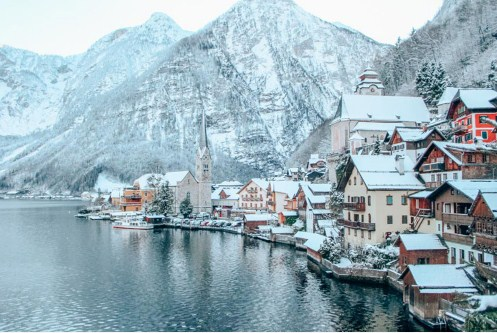 The world's most beautiful village 'please' do not come to visitors