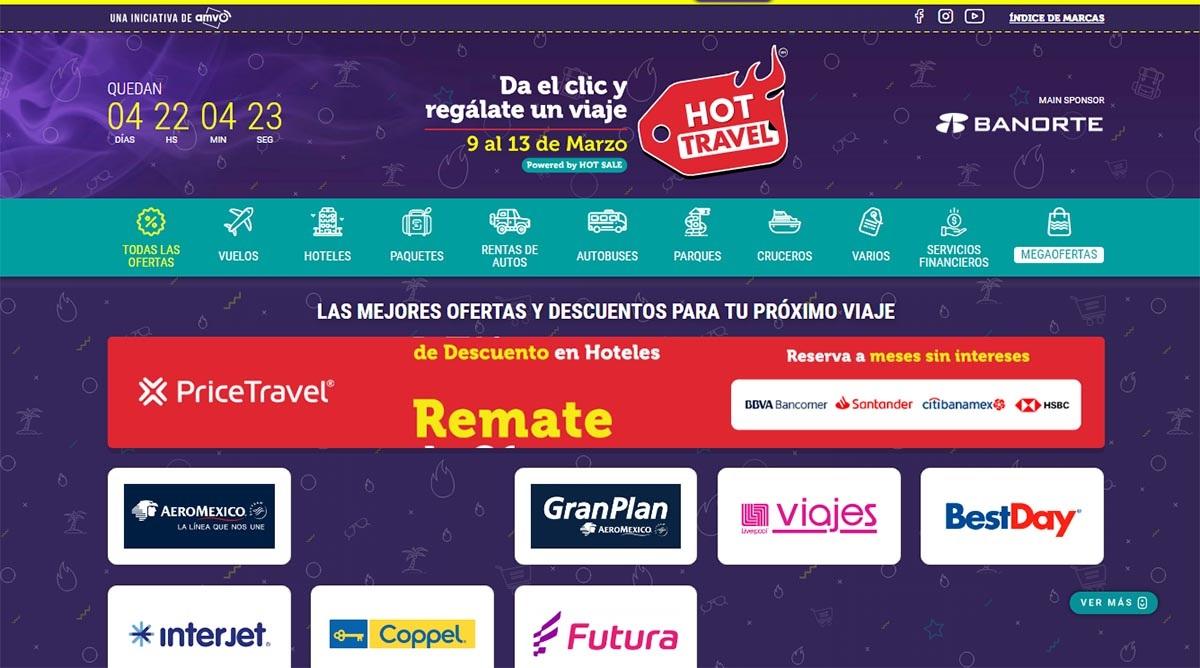 HOT TRAVEL 2020 PROMOCIONES EXCLUSIVAS MERCADO MEXICANO 01